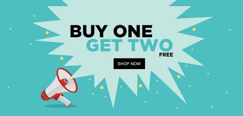 Jabong Buy One Get Two FREE Sale
