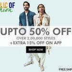 Jabong Republic of Fashion Sale – Upto 50% Off + Extra 15% Off