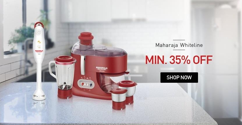 Maharaja Whiteline Kitchen Appliances Offer