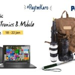 Paytm Epic Electronics and Mobile Sale – Upto 100% Cashback