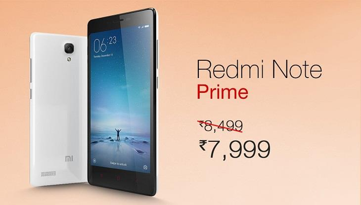 Redmi Note Prime 8k