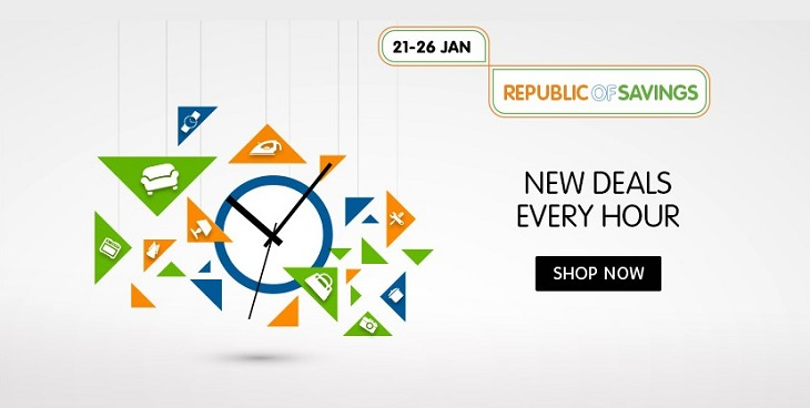 Snapdeal Republic Day Sale happy hour
