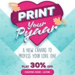 Vistaprint Promo Code Offers Flat 30% Off – Print your Love