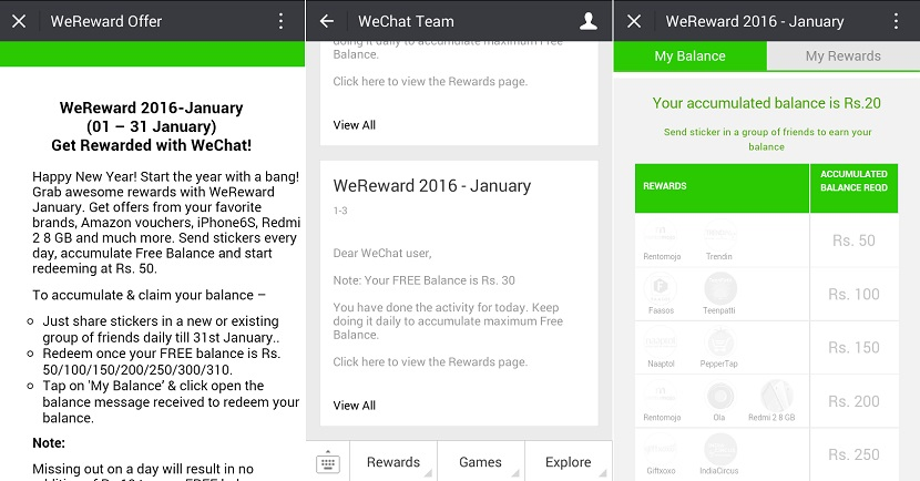 Wechat Wereward January 2016