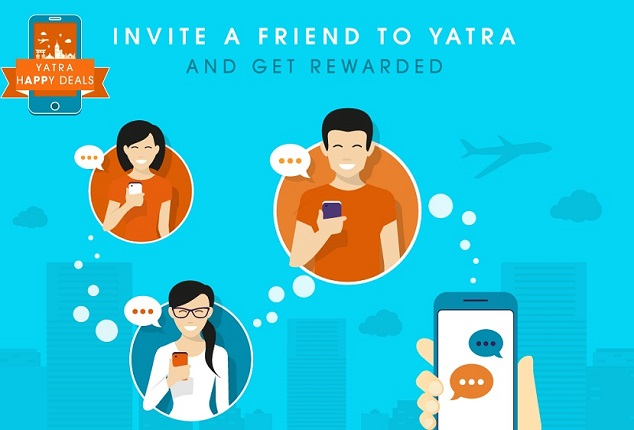 Yatra Refer and Earn