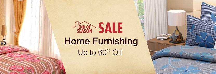 Amazon Home Furnishing Sale End of season