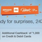 Amazon Mi Week – Win Rs 10,000 Gift Card + Discount Up to 2000