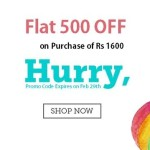 Babyoye February Promo Code : Flat 500 OFF on 1600