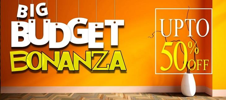 Big Budget Bonanza Sale on Pepperfry 2nd