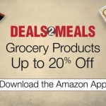 Deals 2 Meals Offer on Amazon App – Grocery Products @20% Discount