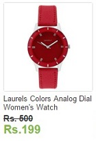 Ebay loot Deals Laurels Colors Analog Dial Women's Watch