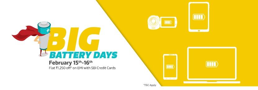 Flipkart Big Battery Days