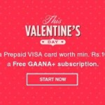 Free Gaana Plus Subscription with Oxigen Wallet Visa Card