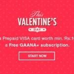 Free Gaana Plus Subscription with Oxigen Wallet Visa Card