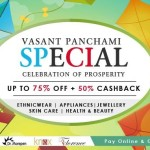 Homeshop18 Vasant Panchami Special – Up to 75% Off + 50% Cashback