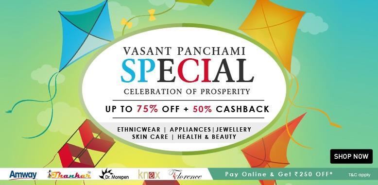 Homeshop18 Vasant Panchami Special