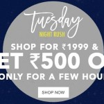 Jabong Tuesday Night Rush – Extra 25% Off Discount Coupon