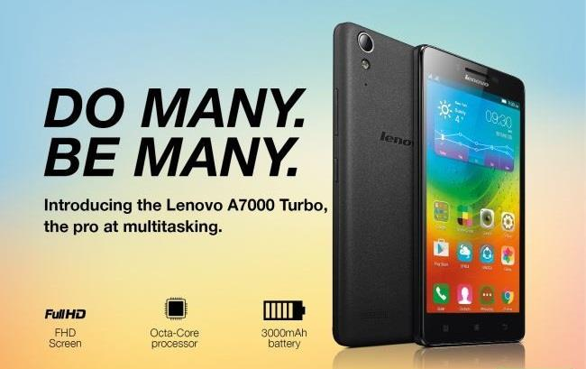 Lenovo A7000 Turbo Black