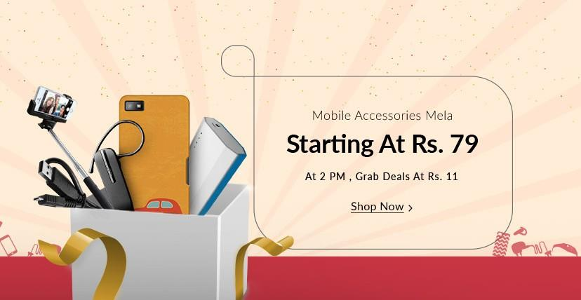 Mobile Accessories Mela on snapdeal