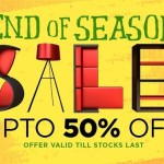 Pepperfry End of Season Sale – Up to 50% Off