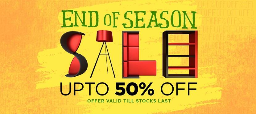 Pepperfry End of Season Sale