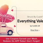 Snapdeal Everything Valentine : Free Coupons on Snapdeal APP