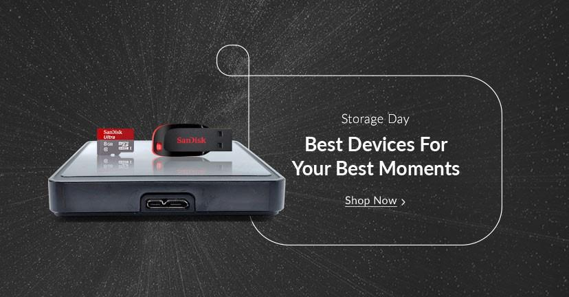 Storage Day on Snapdeal