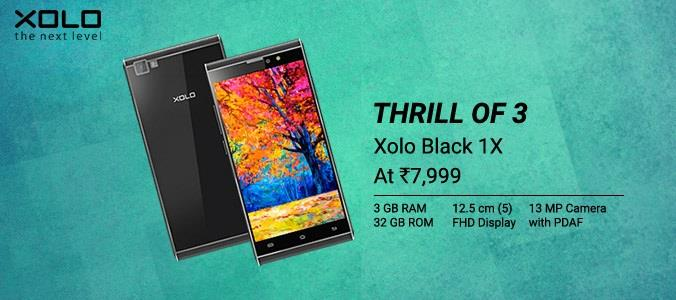 Xolo Black 1X on Flipkart
