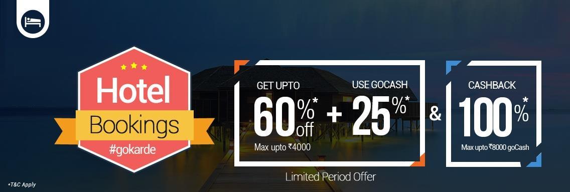 goibibo coupon code greatest Hotel Booking