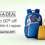 Amazon App BAG-A-DEAL Fashion Deals – Upto 50% OFF