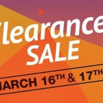 Amazon App Clearance Sale – Valid on March 16th & 17th