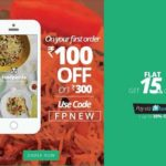 FoodPanda Coupons : Get Rs. 100 Off + 15% Cashback
