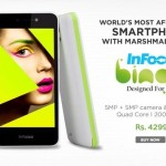 InFocus Bingo 10 available on Snapdeal at Rs.4299