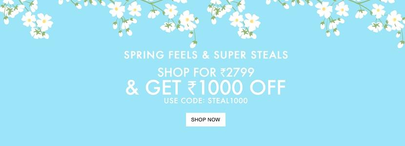 Jabong Spring Super Steals