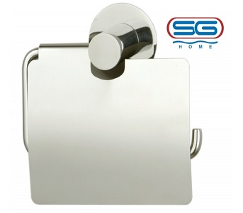 Pepperfry Toilet Paper Holder J Type With Flap by SG HOME