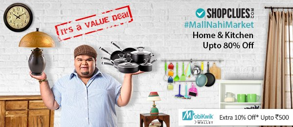 Shopclues Mall Nahi Market Hai Sale Home