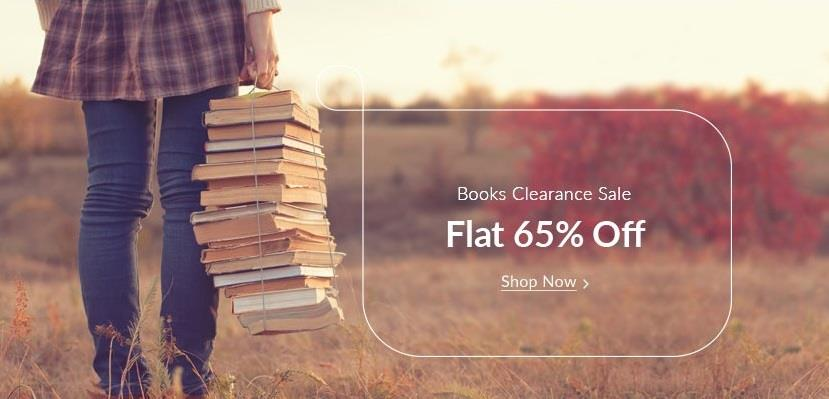 Snapdeal Books Clearance Sale