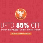 The Great Fab Sale on Fabfurnish – Up to 85% OFF