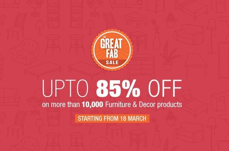 The Great Fab Sale on Fabfurnish