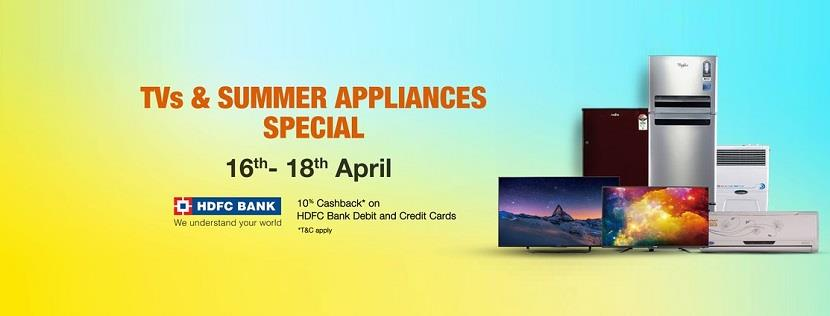 Amazon Appliances Sale  TV & Summer Appliances Special Sale
