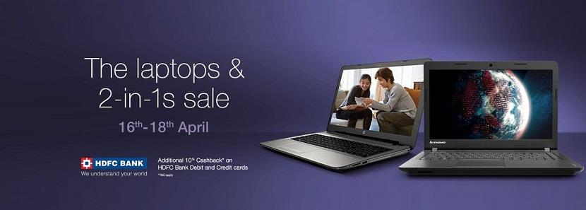 Amazon Laptops 2-in-1s Sale 16 April