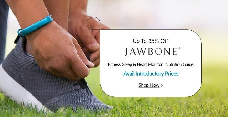 Jawbone Fitness Bands on Snapdeal