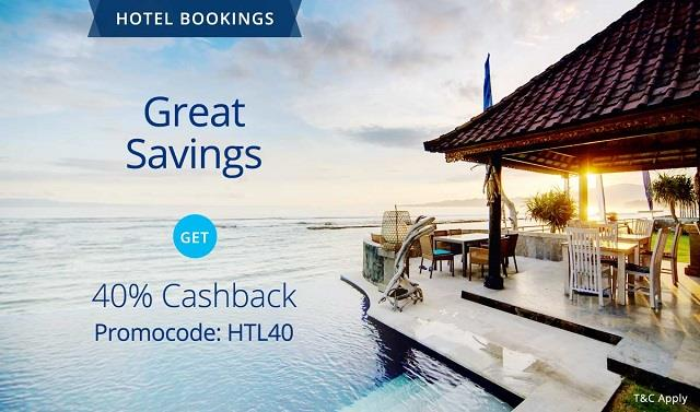 Paytm Hotel Coupons HTL40