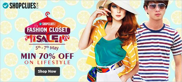 Shopclues Fashion Closet Sale 5may