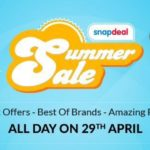 Snapdeal Summer Sale : ACs, Coolers & Fans in Beat the Heat Sale