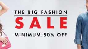 Amazon Big Fashion Sale