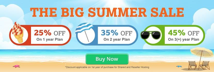 Bigrock Hosting The Big Summer Sale