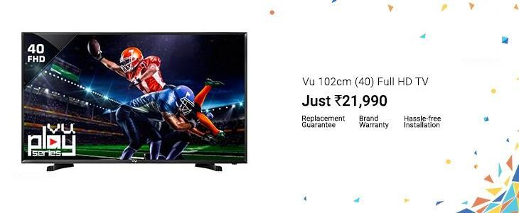 Buy Vu 40 inch LED TV