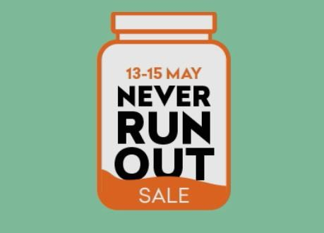 Grofers Sale - Never Run Out Sale