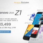 Lenovo ZUK Z1 Registration Opened for Flash Sale on Amazon